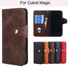 Nobel Style Magnetic Wallet Pu Leather Phone Case For Cubot X18 Magic R9 Note S R11 X18 Plus(China)