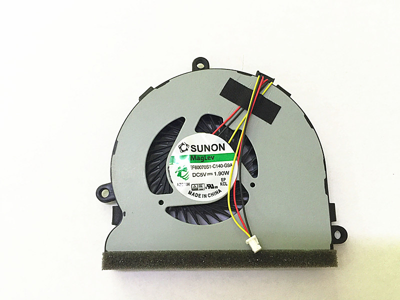 Охлаждающий вентилятор для процессора SSEA, Кулер для ноутбука Dell 5537 3521 5521 15R 5537 74X7K 15-G