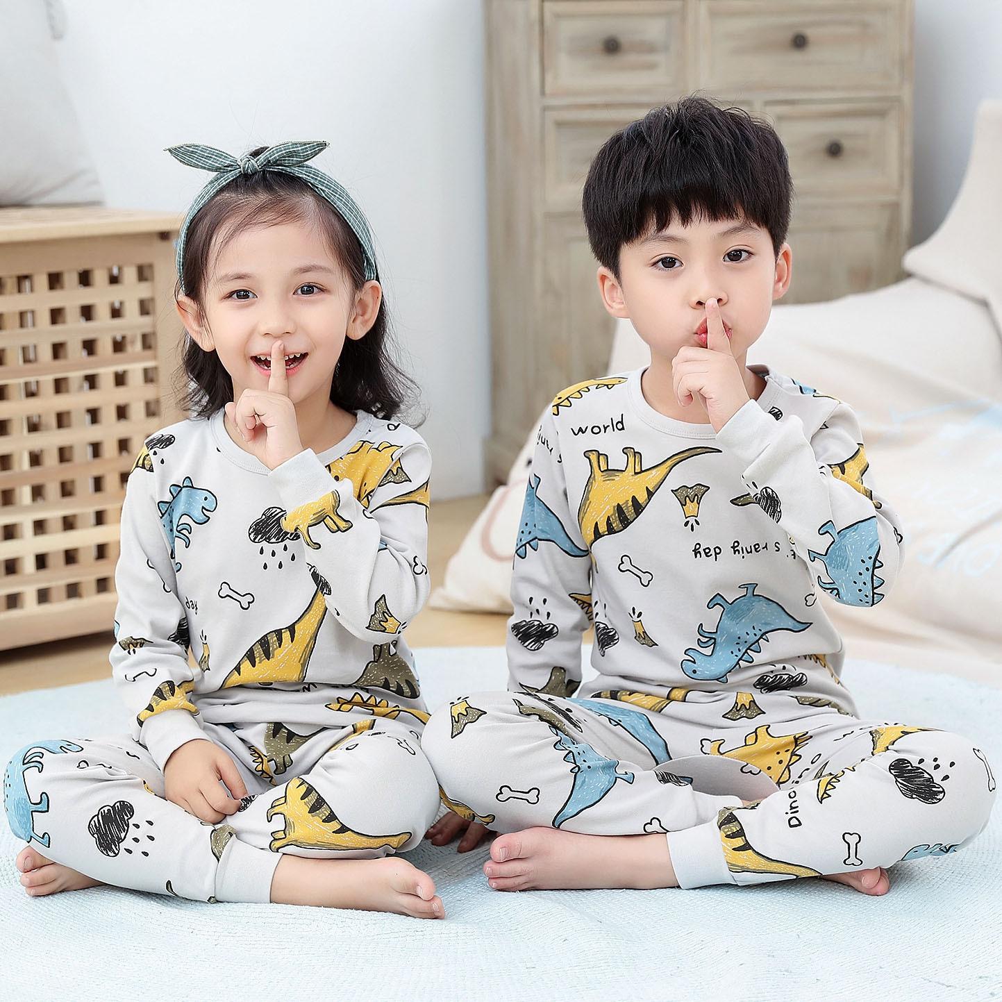 Children Pajamas Boys Totoro Cotton Clothes Pants Set Cartoon Sleepwear Kids Pajamas For Girls Toddler Baby Outfits Child Pyjama 4