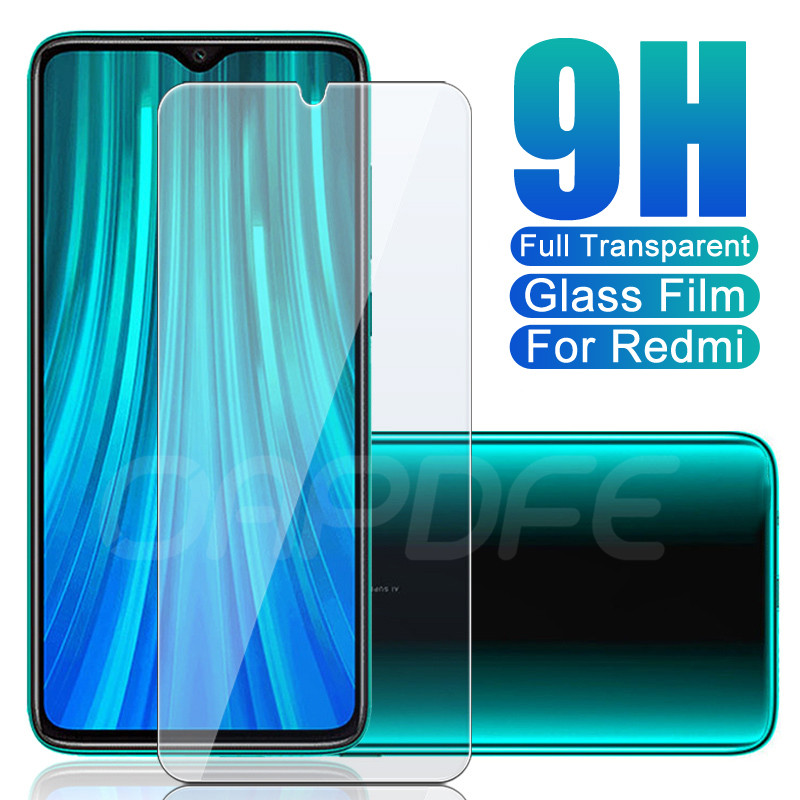9H Protective Glass On The For Xiaomi Redmi 8 8A 7 7A 6 6A Go K20 Note 8 7 6 Pro Tempered Screen Protector Safety Glass Film