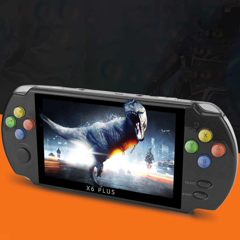 Сайт coolbaby X6 Плюс Ретро игровой консоли джойстик портативный портативных игровых консолей поддержка MP4 видео игры MP5 для PSP ПС1 ГБА