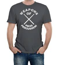 Weapons Of Mass Perkusi T-shirt-Lucu T Kemeja Retro Drum Drummer Lelucon Musik 100% Katun T-shirt, atasan Grosir Tee(China)
