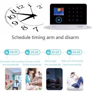 Image 5 - WOFEA sistema de alarma inalámbrico WIFI/GSM RFID, sistema de seguridad antirrobo con pantalla LCD táctil, compatible con Smart Life, Tuya, Alexa y Google Home