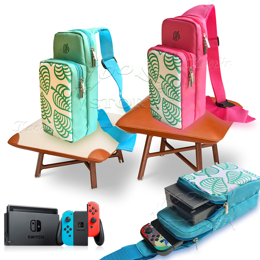 Pour Nintendo Switch/Lite Animal Crossing Cas Nitendoswitch Sac À Bandoulière Nintend NS AnimalCrossing Console Accessoires Couverture