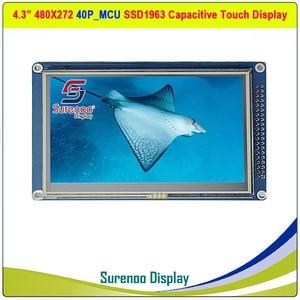 "Image 3 - 4,3 ""480*272 SSD1963 Kapazitive/Resistive Touch 16_Bit MCU TFT LCD Modul Display Panel"