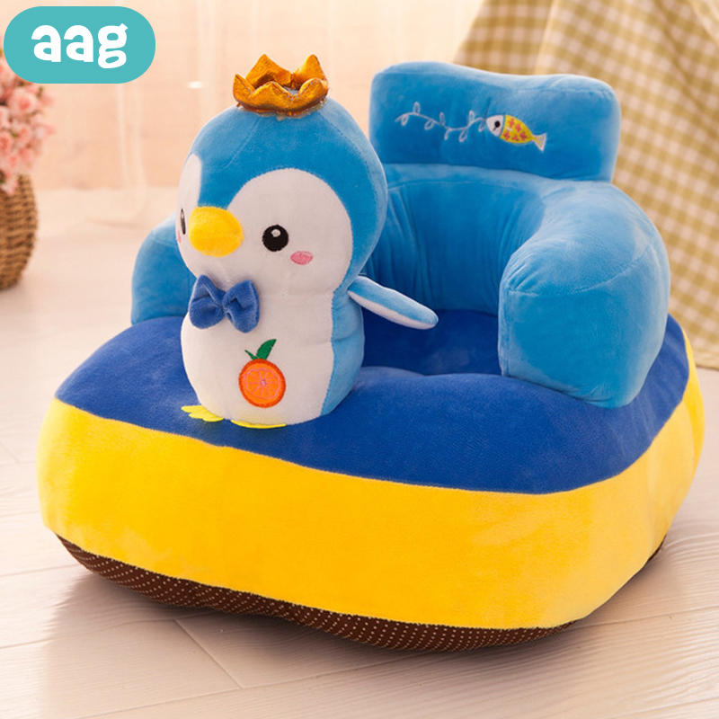 AAG Cartoon Baby Sofa Infant Learning To Sit Chair Sofa Anti-slip Baby Feeding Support Chair Seat Cushion Child Sofas Room Decor