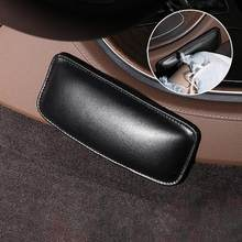 Universal Car Leg Cushion Knee Pad Leather Latex Sponge Support Pillow Protector Door Armrest Pad Car Interior Accessories(China)