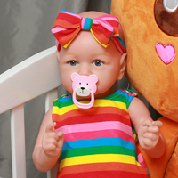 Cute 55CM Realistic Reborn Baby Dolls Lifelike Newborn Baby Doll Toys For Children Best Birthday GIft And Best Playmates