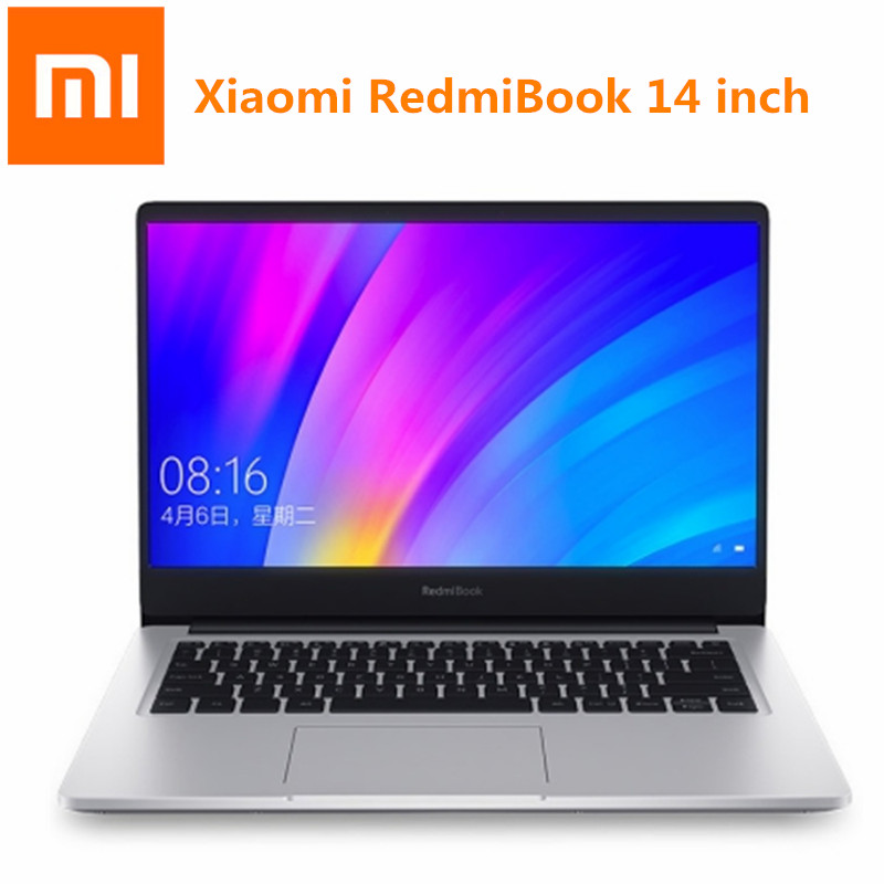 Xiaomi RedmiBook 14 Inch Laptop Ultra-Thin Win10 Intel Core I5-8265 Quad Core 1.6GHz NVIDIA GeForce MX250 8GB 256GB Notebook