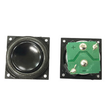 18mm Full Range Speaker For laptop Boombox Radio Bluetooth Speaker diy 4ohm 2W Deep Bass Ultra-thin Hifi Mini Speaker Unit 2pcs(China)