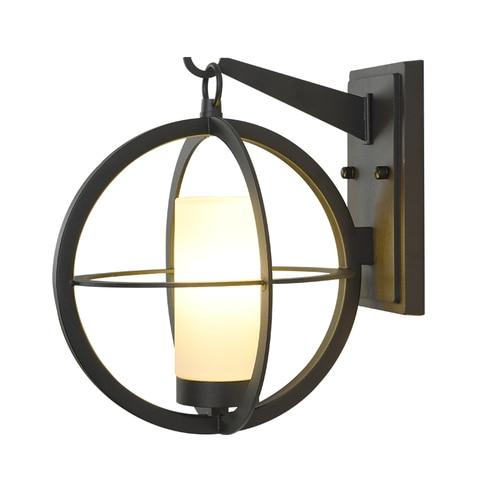 nordic lampadas de parede moderna terra conduziu a luz da parede ao ar livre luzes