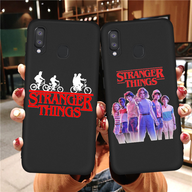 Stranger Things Case Cover Coque For Samsung A10 A70 A40 A50 A51 A20 A30 A60 A81 A91 A50S A30S A71 A01 A21 A11 Etui