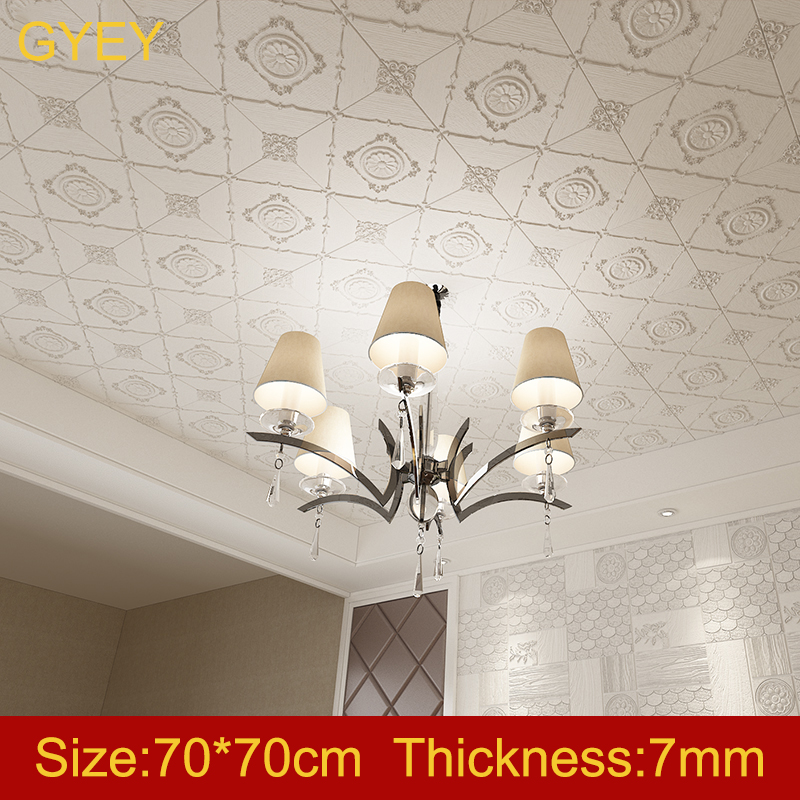 Self-adhesive 3D Wall Stickers Bedroom Living Room Warm Bathroom Waterproof Wallpaper Ceiling Ceiling Roof Wallpaper