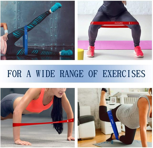 Gym Fitness Resistance Bands Latex Yoga Crossfit Stretch Bands Strong Rubber Band Home Gym Exercise Training Workout Equipment 3