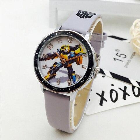 Hot Sale Fashion Kids Watches Boys Cartoon Transformers Sports Quartz Watch Boy Children Watches Gift Clock montre enfant saat Multan