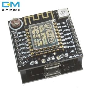 ESP8266 ESP-12F серийный WIFI Witty Cloud Development Board ESP-12F Модуль MINI NodeMCU для Arduino LDR WS2812 LED CH340 DIY KIT