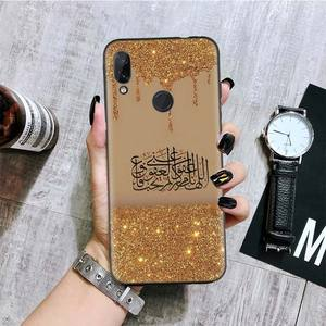 Image 4 - Arabo Musulmano Islamico Nero Del Modello Della Copertura Della Cassa Del Telefono per Xiaomi Redmi Nota 8T 10 9S 8 7 8A 7A 6A Mi 10 9 8 CC9 K20 Pro Lite Coque
