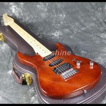 2019 Hot Sell Electric Guitar Z-WW3 Tremolo Bridge Brown Color Maple Fingerboard Cheaper Price Good Quality недорого