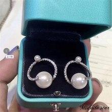 2019 Pearl Earrings Jewelry  Temperament Hook Simple Earrings White Teardrop Simulation Dangle For Women цена 2017