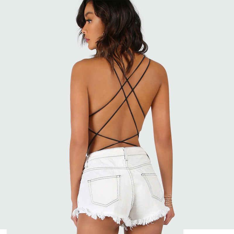 2019 패션 트렌드 여성 레이스 업 붕대 바디 슈트 레오타드 romper 원피스 수영복 hot summer backless new holiday beachwear