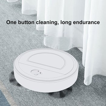 Automatic Smart Robot Vacuum Cleaner Small Vacuum Cleaners Sweeping Robot Floor Auto Home USB Rechargeable Cleaning Machine electric wireless sweep robot automatic multi directional round smart sweeping robot vacuum cleaner for home usb charge