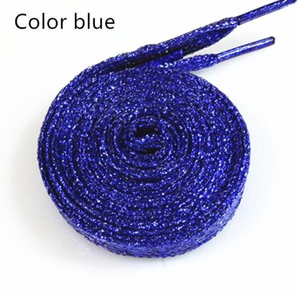 Unisex Glitter Shoe String Shoe Lace Metallic Shoelaces 1 Pair Sparkle Bling