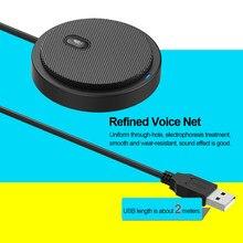 USB çok yönlü kondenser mikrofon mikrofon toplantı iş konferans bilgisayar Video oyunları canlı yayın ses