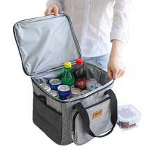 Men High Quality Cooler Bag Portable Picnic Shoulder Insulated Bags Tote ice pack Drink Food Beer Storage Container Refrigerator