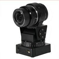 YT 260 Motorized Pan Tilt Tripod Head With Remote Control For Camera For Gopro Hero Yi Sony QX1L QX10 QX30 QX100