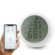 Беспроводной датчик температуры tuya zigbee 30 с wi fi для умного