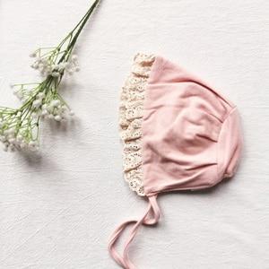 Image 4 - Детское боди, новинка 2020, весенняя одежда для маленьких девочек, детское Сетчатое боди с длинным рукавом и вышивкой на воротнике из чистого хлопка