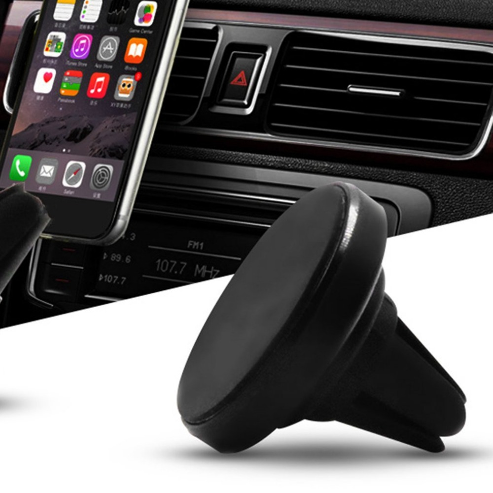 A3 Air Vent Triangle Magnetic Holder Car Rotating Support For Mobile Phone Magnetic Universal Reusable Magnet Suction Bracket