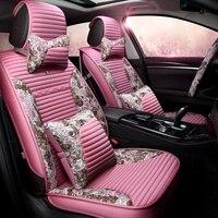 Car Seat Cover Auto Seats Covers for Porsche Cayenne S Gts Macan Subaru Impreza Tribeca Xv Sti 2017 2016 2015 2014