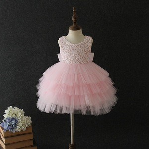1 2 3 4 5 Year Old Birthday Baby Girl Dresses Tutu White Pink Party Love Formal 2020 Toddler Baby Girls Clothes RBF194016