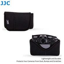 Jjc المرايا لينة النيوبرين حالة الكاميرا slr الحقيبة الصغيرة حقيبة كبيرة ل fujifilm أوليمبوس