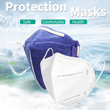 10pcs N95 mask CE certified anti-dust mask protection 95% filtered anti-flu reusable