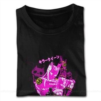 Euro Standard Quality T Shirt JoJo's Bizarre Adventure Tees Shirt Mens Funny Designers Short Sleeves Couple Shirts 1