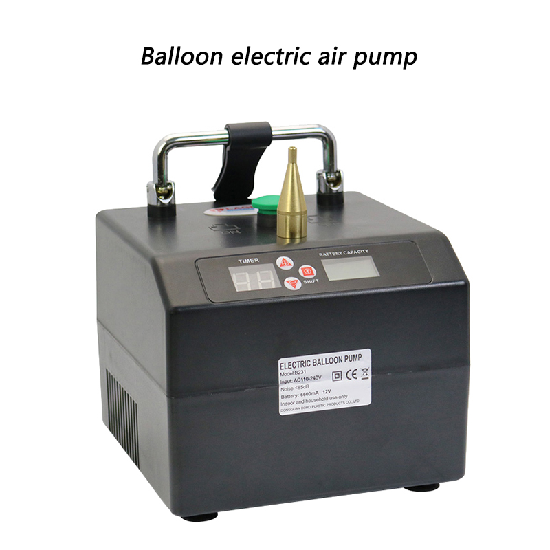 Balloon Electric Air Pump 260 Magic Balloon 5 Inch Round Balloon B231 Black Long Balloon Inflator 110-240v 120W