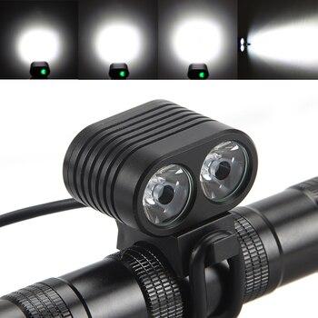 fietslamp zaklamp 18650 accu