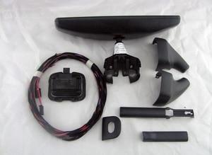 Image 5 - רכב מראה אחורית אוטומטי פנס מתג + גשם אור מגב חיישן + נגד בוהק מראה אחורית פולקסווגן גולף MK6 Tiguan Jetta 5