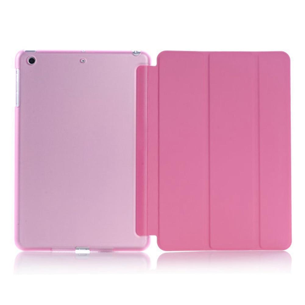 Ultra Slim Magnetic Smart Flip Stand PU Leather Cover Case For Apple I Pad Mini 1 2 3 Retina Intellectual Dormancy Case