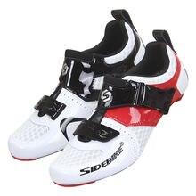 Мужская обувь для шоссейного велосипеда с самоблокирующимся