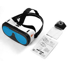 LESHP Blu-ray Glass Lens 3D VR Glasses Virtual Reality Headset Movie Game Anti-ultraviolet Anti-dizziness Better Thermal vr glasses virtual reality hmd 518 1080p 3d video movie game glasses private mobile cinema personal theater game movie 8g tf