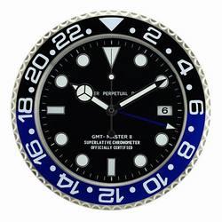 Reloj de Metal con función luminosa, reloj de alta calidad, decoración de pared para el hogar, relojes con Logos de la serie Cosmograph correspondiente