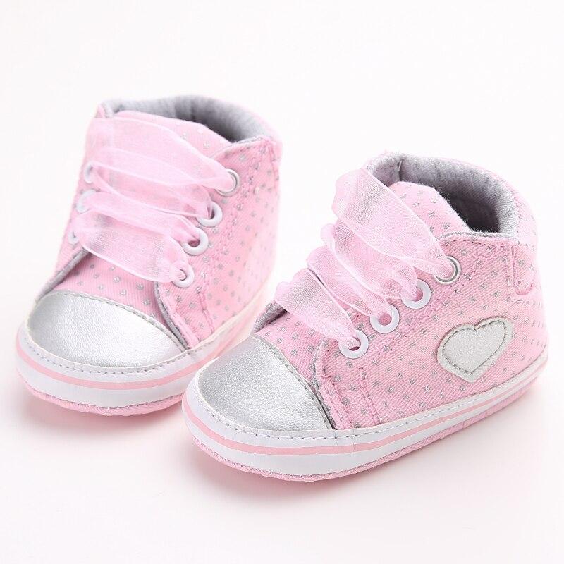 Newborn Baby Boy Girl 0-181M Soft Sole Cotton Crib Shoes Anti-slip Sneaker Prewalker AU