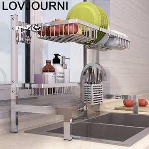 Rack-Holder Dish-Drying Kitchen-Storage Stainless-Steel Organizador Cozinha Mutfak Cocina