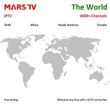Applicable à V8SPLUS V6S V6 V10 V9S arabe européen espagne Portugal pologne royaume uni MARSTV IPTV service Support Android APK