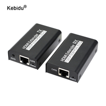 1080P HDMI Extender Over Cat 5e/6 RJ45 Ethernet LAN Network Support HDCP 1.2 60M Extension 3D HDMI Splitter Transmitter Receiver