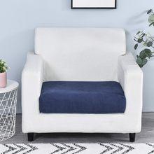 Funiture Protector Jacquard Dikke Sofa Kussenhoes Hoekbank Zitkussen Hoes Elastische Effen Kleur Couch Cover