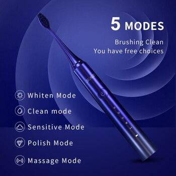 Электрическая зубная щетка SEAGO Sonic S2X 5